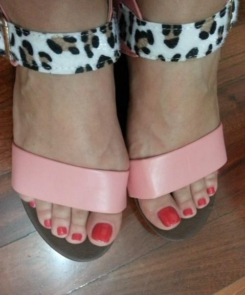 сандали леопардовая полоса