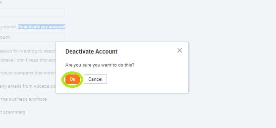 Как удалить аккаунт aliexpress